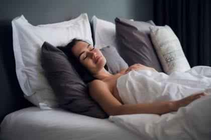 Tyngdtäcke för bättre sömn