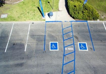bilanpassning - handikapparkering